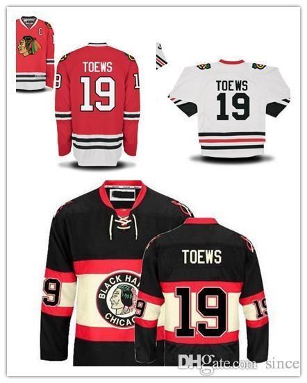 2016 Nieuwe, Hot Koop Jonathan Toews Jersey Red Chicago Blackhawks Toews Hockey Jersey 2014 Toews Black All Stitching Jersey White