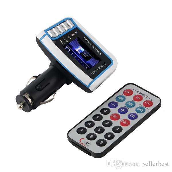 """1.44"""" дюймовый ЖК-беспроводной FM-передатчик автомобильный MP3-плеер для SD TF слот для карты USB-накопитель (не MP4 )"""
