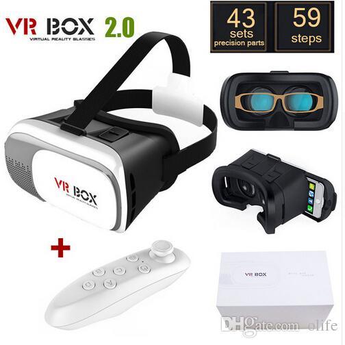"""رئيس جبل البلاستيك VR BOX Case II 2.0 الإصدار VR نظارات الواقع الافتراضي الصدع جوجل فيلم كرتون 3D لمدة 3.5 """"- 6.0"""" الهاتف الذكي"""