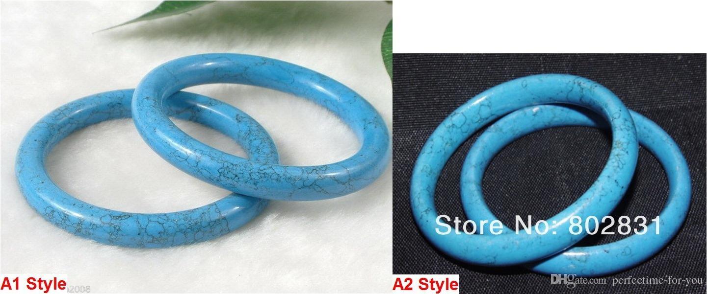 2 Style Wholesale Tibetan Beautiful Turquoise Jewelry Bracelet