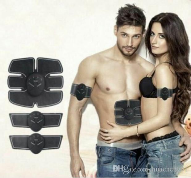 EMS Muskeltraining Toner Getriebe ABS Trainer Fit Übung Body Shape Fitness Massage Home Use