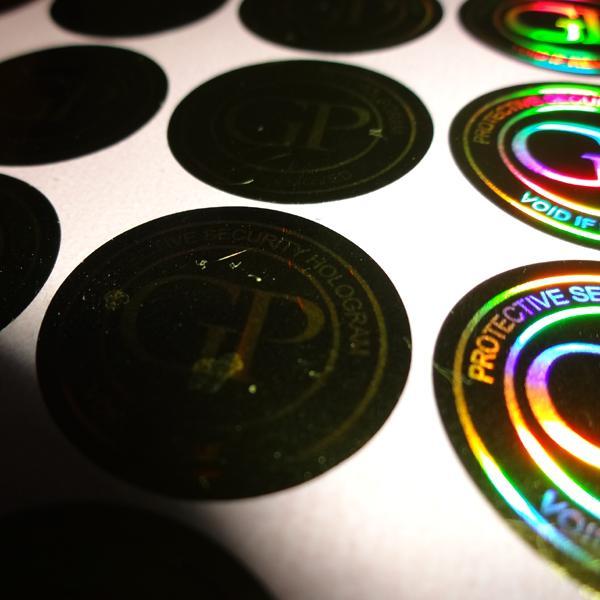 15000 pezzi / set! Personalizzato 3D oro ologramma adesivo stampa di etichette, design gratuito! nulla se rimosso