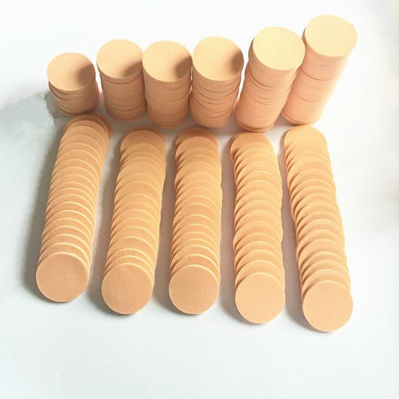 370pcs esponja Cosmetic Puff maquillaje esponja cara mujeres suaves Lady Beauty Makeup Foundation contorno esponjas faciales Powder Puff