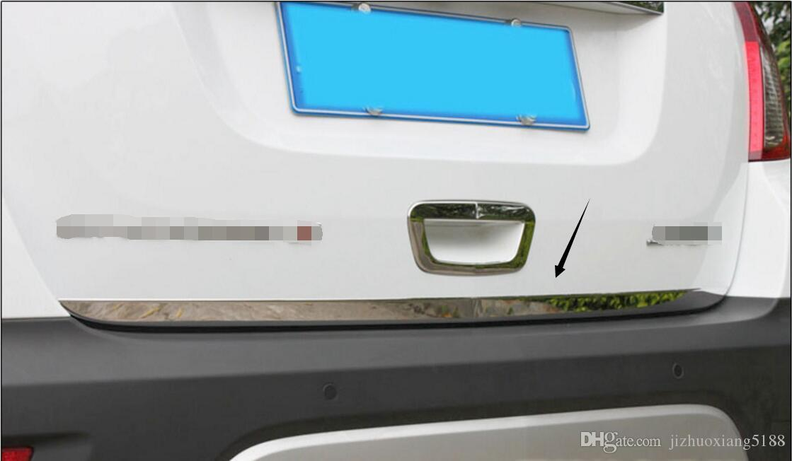 Fit Volkswagen 2004-2018 models Tailgate TRUNK Trim Molding CHROME Style
