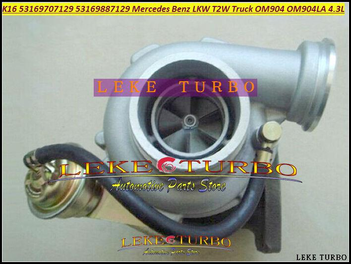 Turbo Turbocharger K16 7129 53169707129 53169887129 9040968599 For Mercedes Benz LKW T2W Truck OM904 OM904LA 4.3L (1)