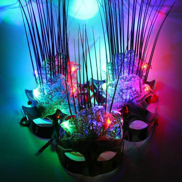 Sprzedaż fabryki, imprezy taneczne, maski, światła, maski księżniczki, maski blasku, światła, piwonie, maski ...