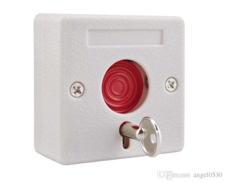 Малый сигнал тревоги NC / нет вариантов тревожная кнопка пластиковый переключатель использовать для аварийной системы аварийного swtich пожарной аварийной кнопки Эмер