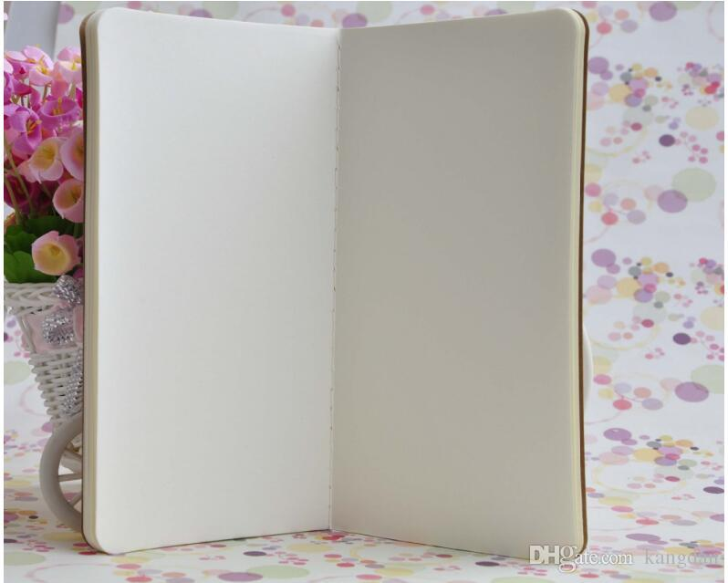 Bebês do vintage crianças desenho desenho blocos de notas de papel Kraft caderno em branco do vintage livro caderno diário diário cadernos crianças presente