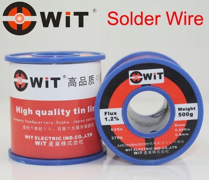 Japan WiT Brand 500g Solder Welding Wire For Solder Iron Low Melting Temperature Non-halogen, Non-corrosive, Non-splash Tin line