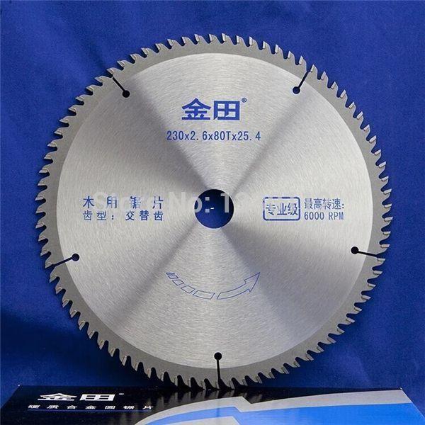 """9 """"230mm 80 T hartmetall sägeblatt für holz schneiden massivholz latte timber auch verkauf andere größen sägeblätter"""