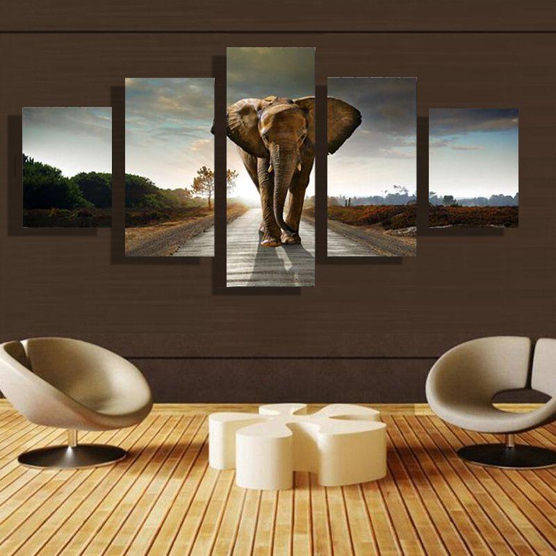5p Modernes Zuhause HD Bild Lgemlde Leinwand Druck Kunst Wand Wohnzimmer Kinder Zimmer Studie Dekoration Thema
