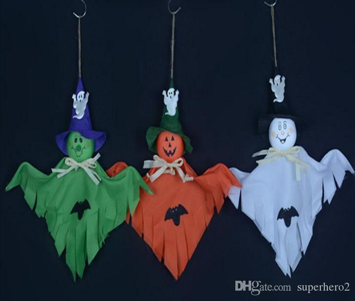 Cadılar bayramı hayalet bebek Ürpertici Prop Dekor Korkunç Cadılar Bayramı Parti Evi gece kulübü bar Dekorasyon Sahne Paskalya Aktif Hayaletler şenlikli malzemeleri