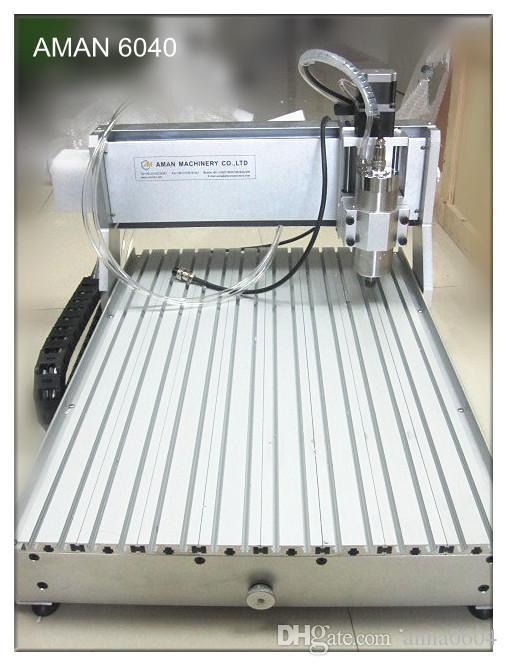 promozione di alta qualità 6090 CH80 1500 w metallo morbido plastica lavorazione del legno cnc mini macchina per incisione in vendita