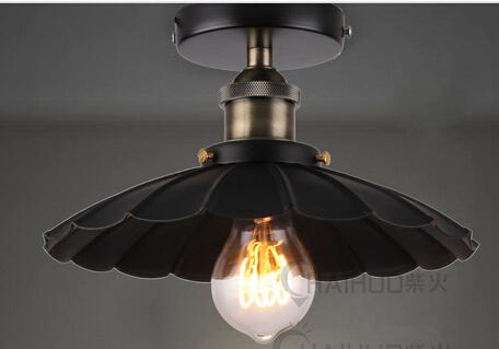 Промышленные Flushmount потолочный светильник восстановление люстра зонтик 20-го. C. Установленная Поверхность Света Фабрики