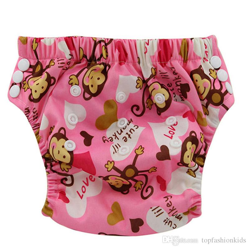 Baby Reusable Toilet Potty Training Pants with Digital Printed Infant Boys And Girls Water Resistant Training Pants 0-3Years