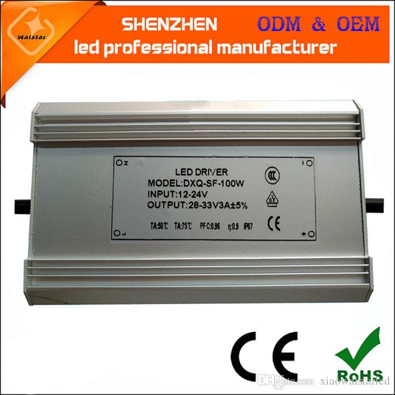DC 12-24V solar power led light driver waterprrof IP67 10W 20W 30W 40W 50W 60W 70W 80W 100W solar LED Driver Power Supply
