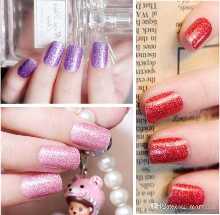 New Fashion Nail Stickers Shinning Colors Butterfly Cartoon Korean ...