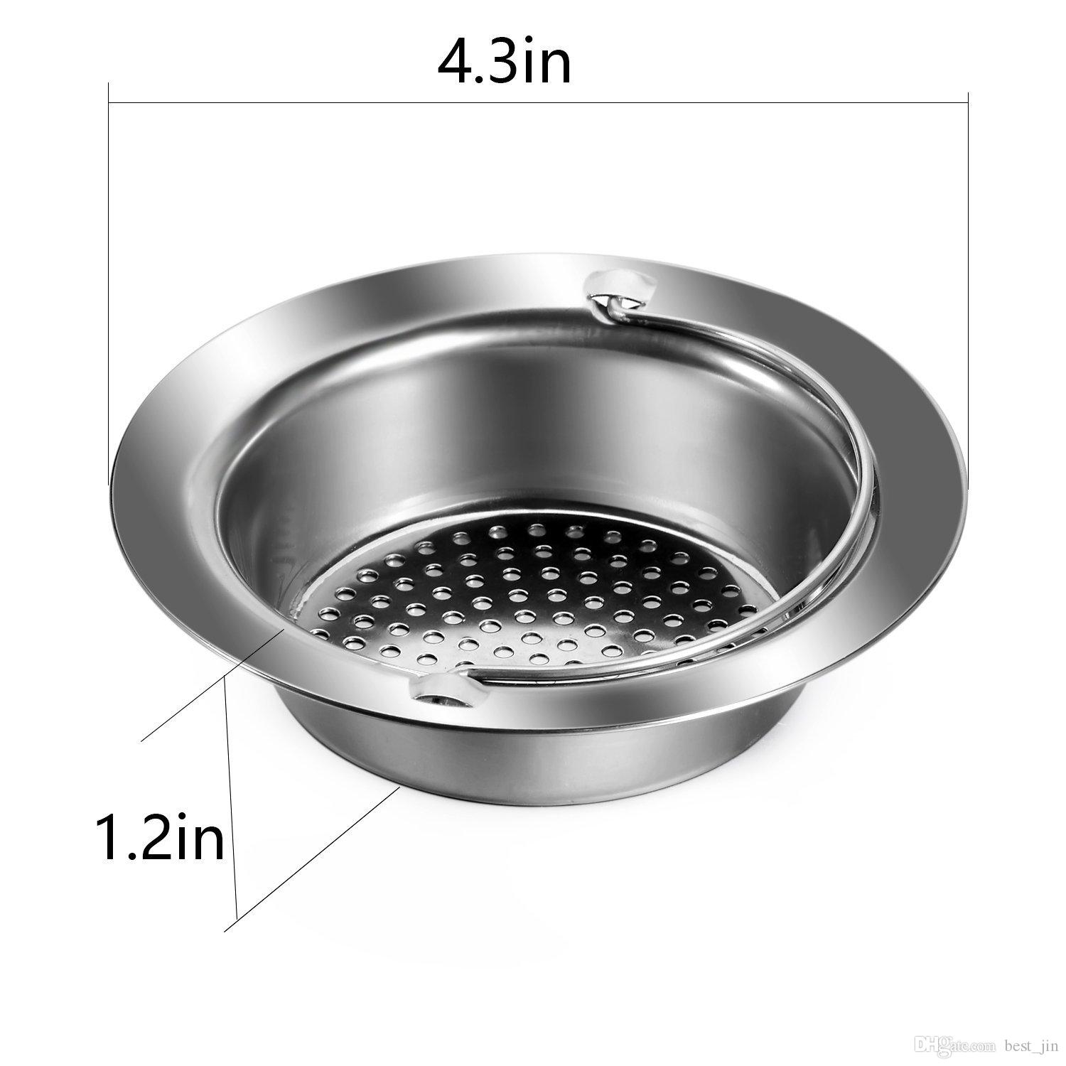 2019 Kitchen Sink Strainer, Stainless Steel Sink Drains Strainers, 4.5  Diameter, Fit For Almost All US Kitchen Sinks From Best_jin, $2.02 |  DHgate.Com
