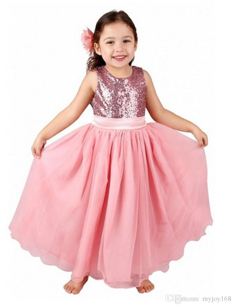 2015 Kids Wedding Dresses, Pageant Party Dresses Girl, Baby Girl ...