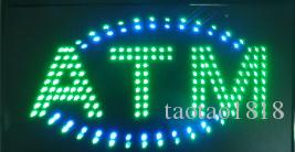 Plastic PVC frame LED ATM Sign Billboard LED sign Electronic billboards in semi-outdoor size 21.5''x13''
