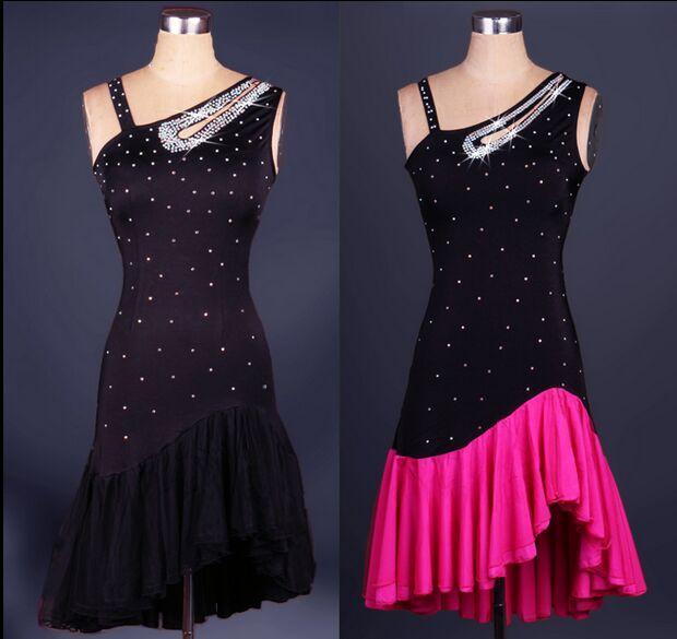 2018 Personnalisé Madel Robe De Danse Latine Femmes Lady Vêtements Pour La Scène De Danse Costumes Salle De Bal Tassel Robe De Danse Pour Les Femmes Vêtements de Danse