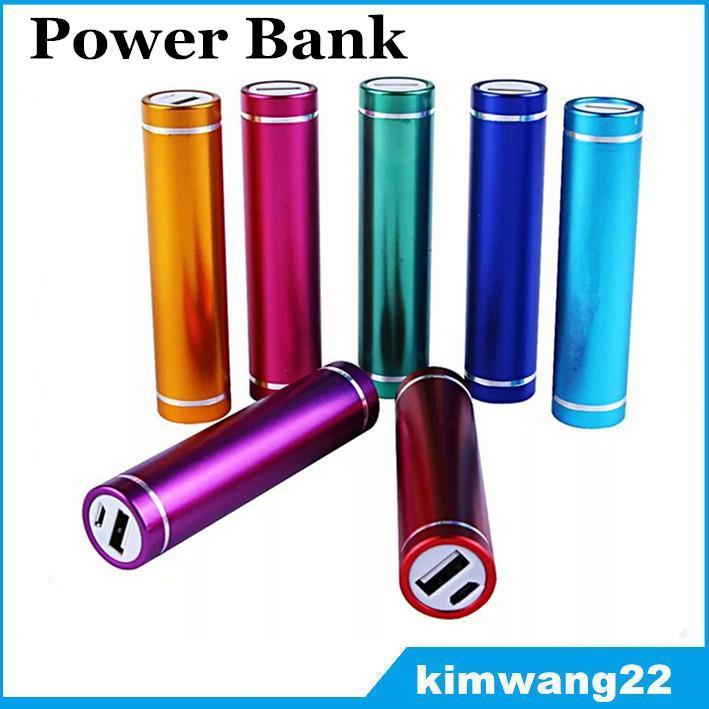Banco de energía 2600mAh cargador de paquete de batería externo portátil Banco de energía universal para teléfono móvil con cable micro USB con paquete al por menor