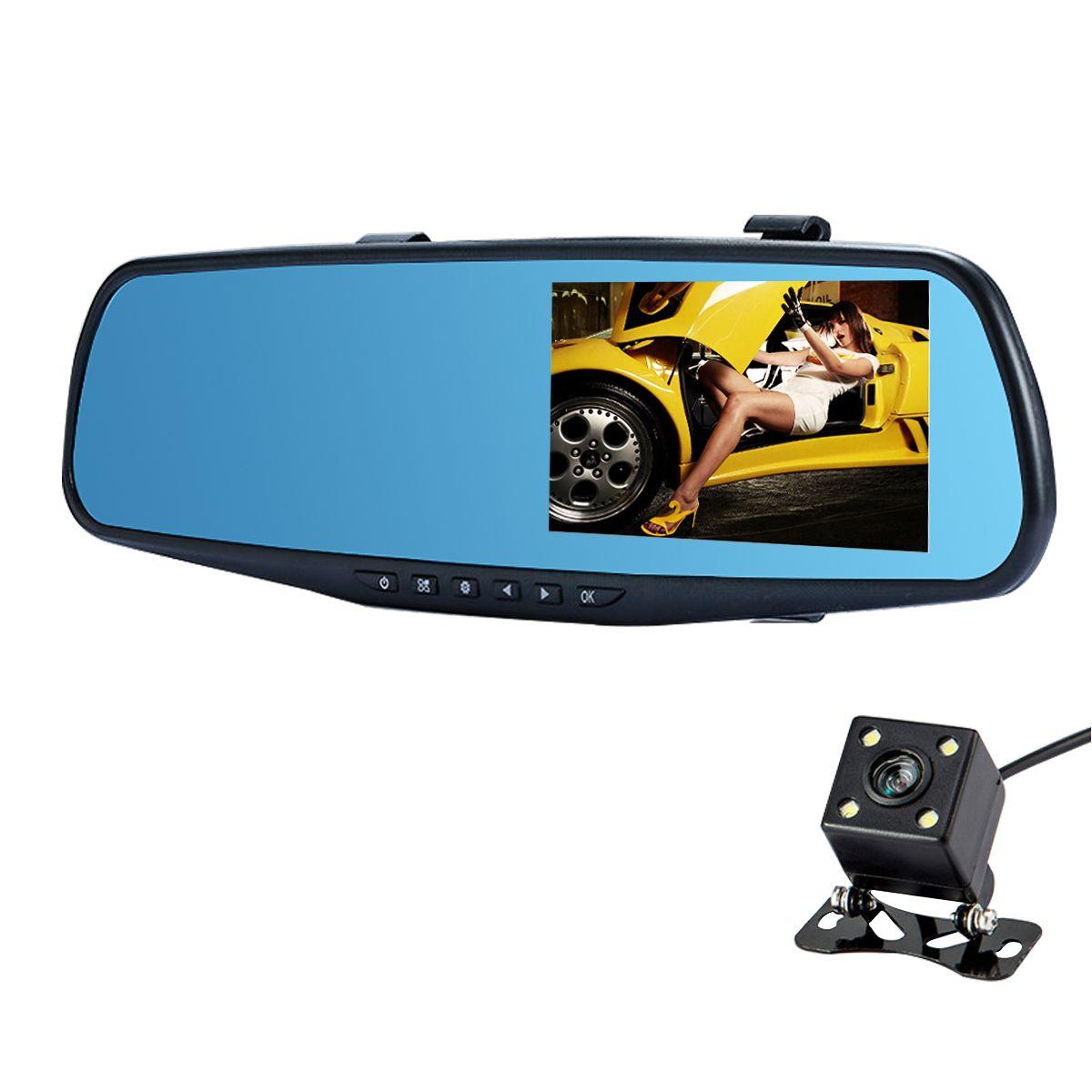 C30P Auto DVR Kamera Full HD 1080p Rückspiegel Auto DVR Doppelobjektiv Dash Cam Video Registrator Cam Recorder