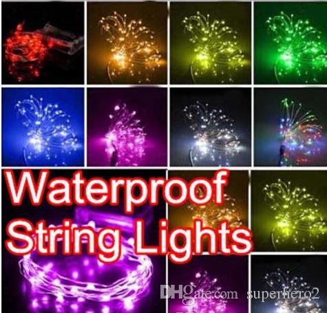 NEW 10m 100 LED lampadine String Lights lampada da sposa casa giardino Natale Bar Lampade Decorazione Stringhe LED festa festa vacanza luci regalo