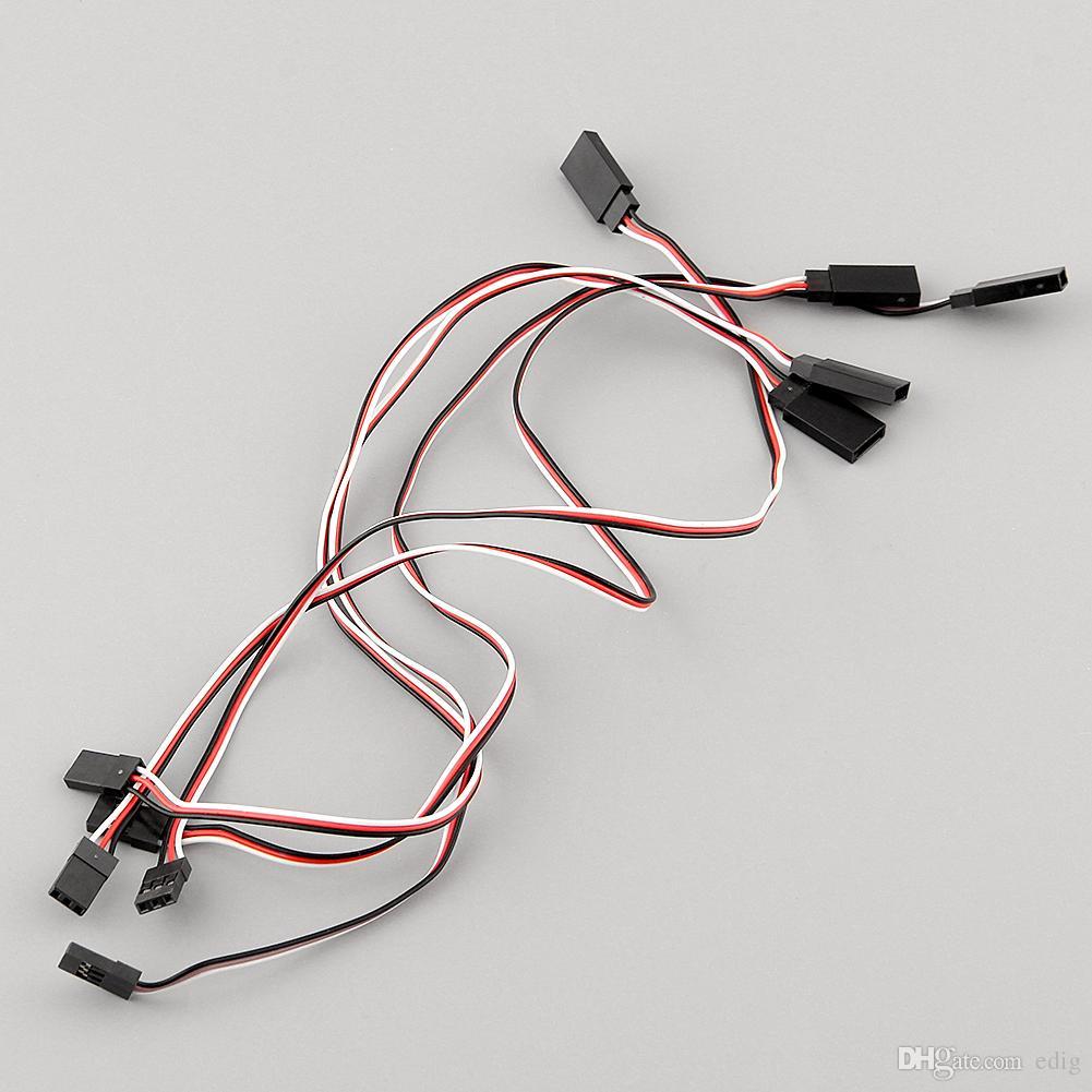 Servo ricevitore Y Cavo di prolunga Cavo di collegamento 300mm per connettore JR IC