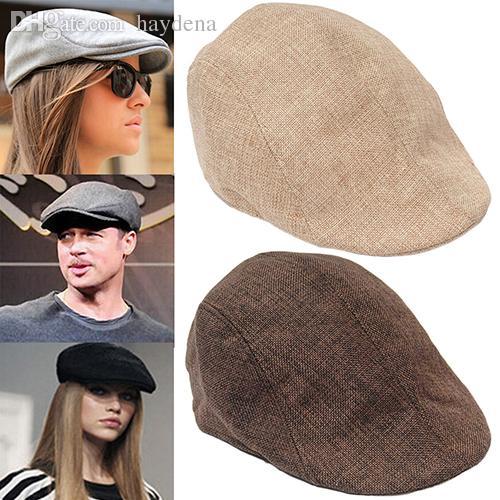 도매 - 남성 여성 패션 모자는 평면 모자 베레모 모자 Cabbie Newsboy 컨트리 골프 스타일 9HBG