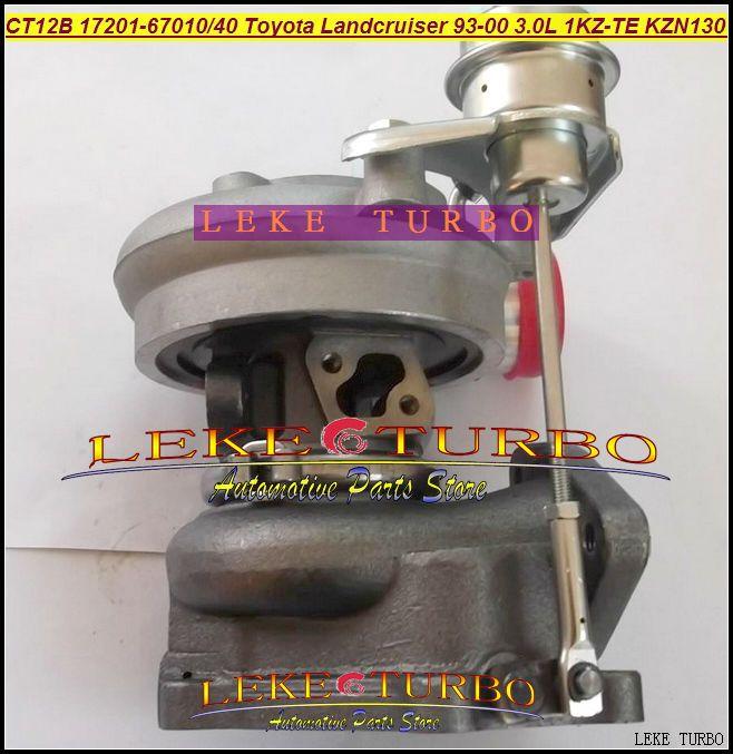 CT12B 17201-67010 17201-67040 TOYOTA LANDCRUISER 1KZ-TE 125HP HI-LUX KZN130 4 Runner 1993 3.0L D turbocharger (6)