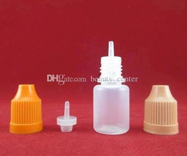 Toppkvalitet PE Soft 5ml 10ml 15ml 30 ml flaska tomma plast E flytande flaskor för E Juice Elektronisk cigarett DHL