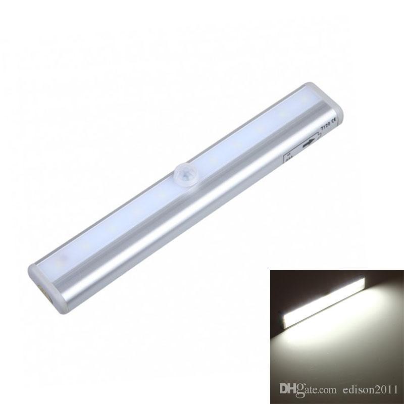 premium selection 4e103 0818d 2018 Edison2011 Led Cabinet Light 10 Leds Led Night Lamp Motion Sensor  Light Ir Motion Detector Wireless Led Bar Light For Closet From Edison2011,  ...