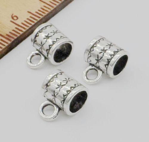 500 Stücke Tibetischen Silber Spacer Bail Perlen Stecker Für Schmuck Machen Armband 8x6mm