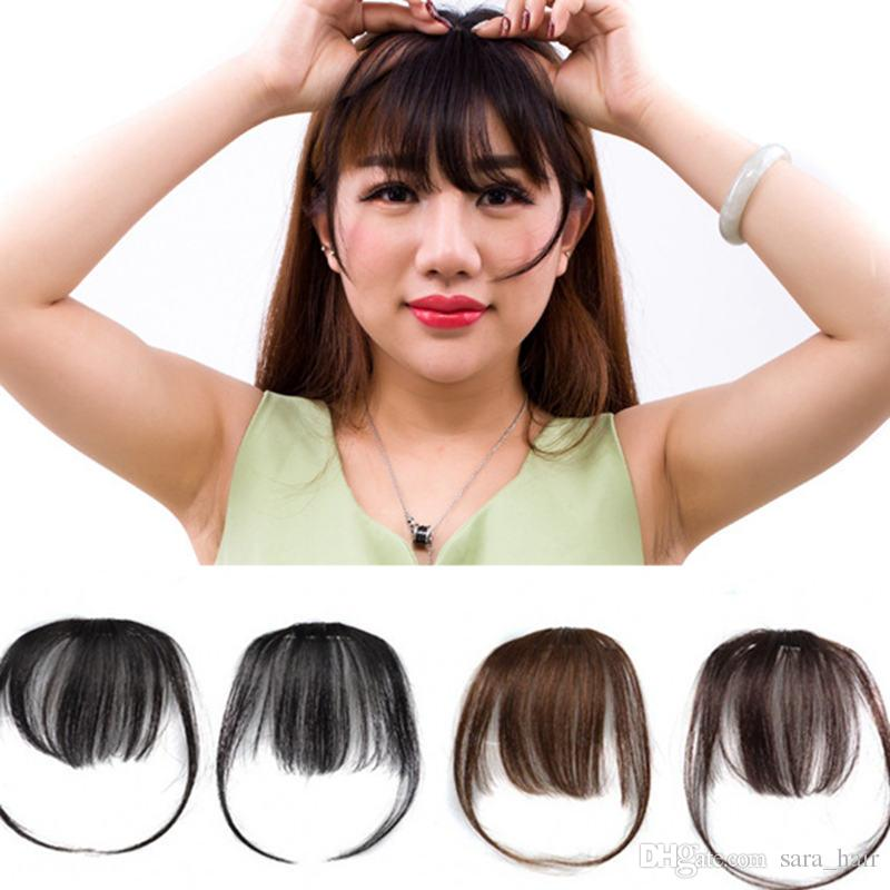 Sara 100% Human Hair Bang Shuangbin Clip