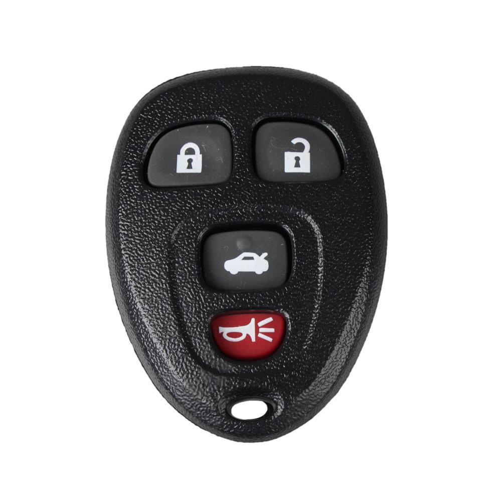 뷰익에 대한 100 % 4Buttons 열쇠가없는 자동차 항목 원격 FOB 키 셸 키 케이스 패드 보장 무료 배송