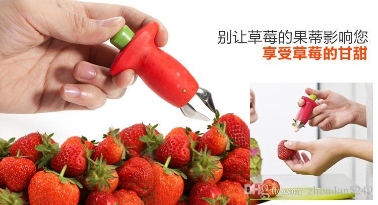 Utensili da cucina Strawberry go governor fruit dig dispositivo nucleare nucleare Pomodori a coltello