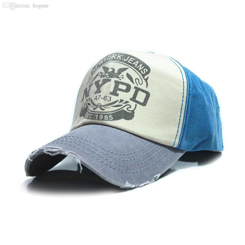 Atacado-6 cores de algodão Vintage Snapback Cap ajustável chapéu Unisex Boné de Beisebol atacado de apoio