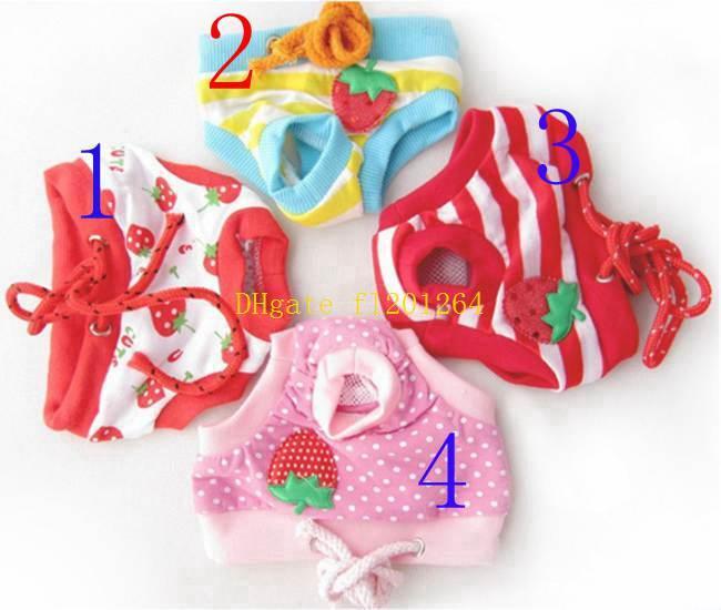 50 unids / lote Pet Dog Physical Pant Pet Underwear Pants Elastic Waist Pañal Mascotas Producto S / M / L / XL tamaño