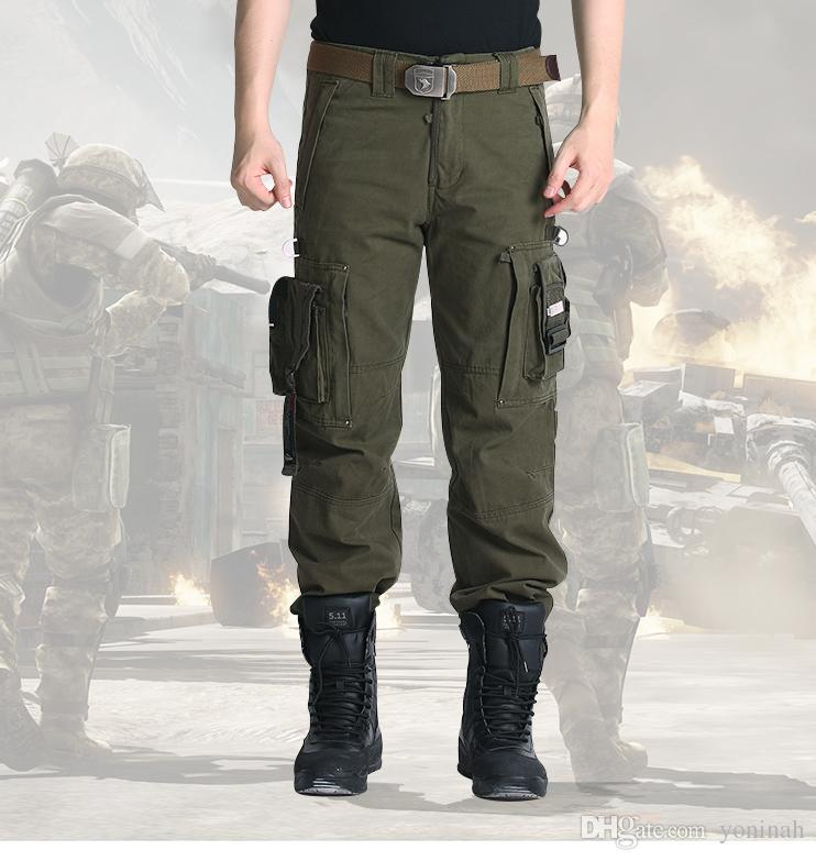 fast color provide plenty of online shop 2019 Holesale Men'S Trousers Outdoor Clothing Tactical Military Knee Man  Army Camouflage Fatigues Pants Pants Work Clothes From Yoninah, $66.69 | ...