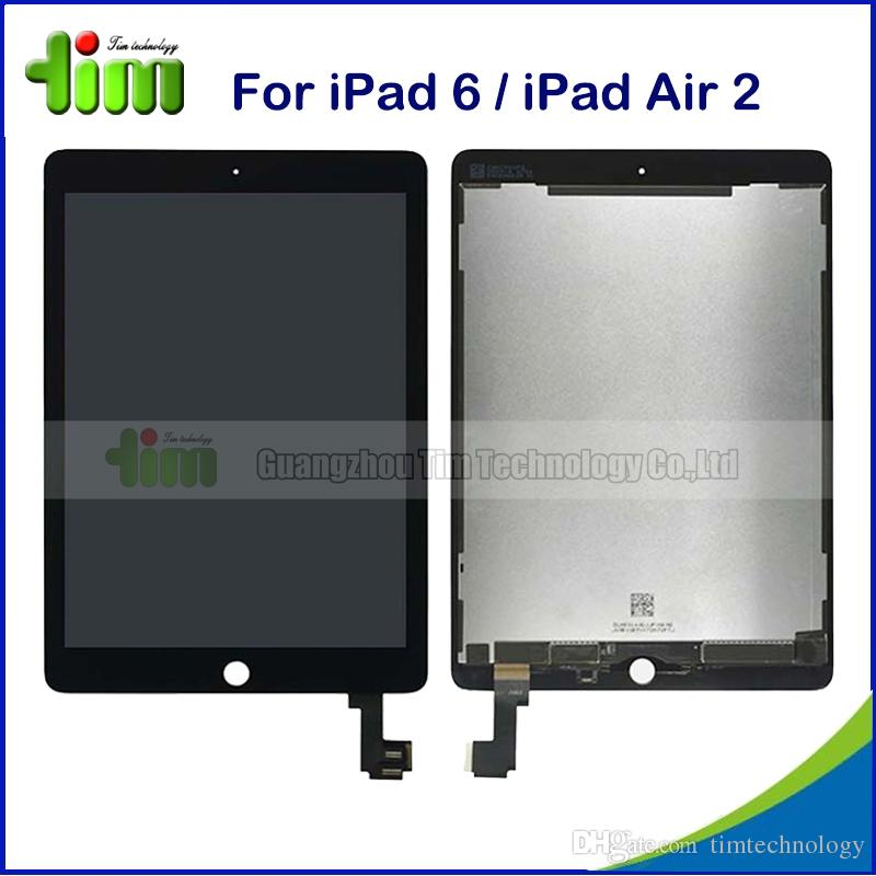 For Apple iPad Air 2 A1566 A1567 LCD Display+Touch Screen Digitizer Replacement