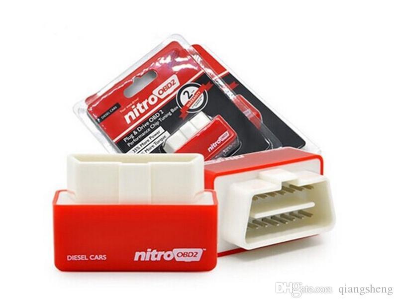 Dizel Araba Chip Tuning Kutusu için en Çok Satan NitroOBD2 Kutusu Fiş ve Sürücü OBD2 Chip Tuning Kutusu