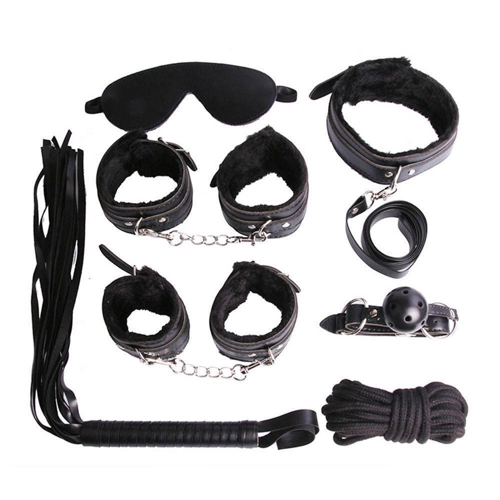 Веревки сексуальные наручники для наручников бондаж # R172 комплект горячего набора кнут взрослый с завязанными глазами игрушка мяч MGPTG