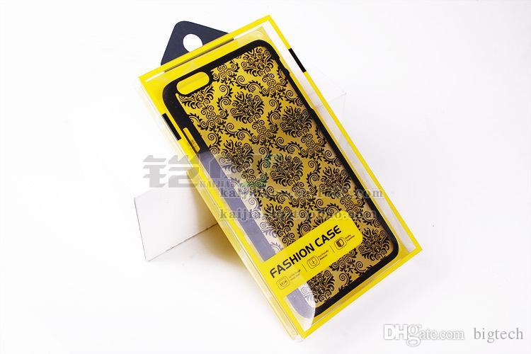 telefono cellulare scatola di imballaggio regalo caso di nuovo disegno 300pcs caldo di vendita di alta qualità con i vassoi interni per 5,5 pollici per iPhone 7 / 7plus