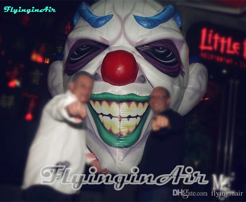 3m Hanging Horrific Fear Of Clown Inflatable Clown for Bar/Club/Party Halloween
