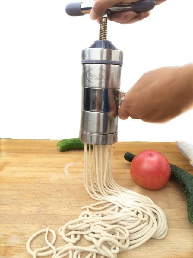 Edelstahl kreative manuelle Nudelmaschine Hause drücken Oberfläche ist Hand Hele Maschine Hause Pasta Maschine Hersteller