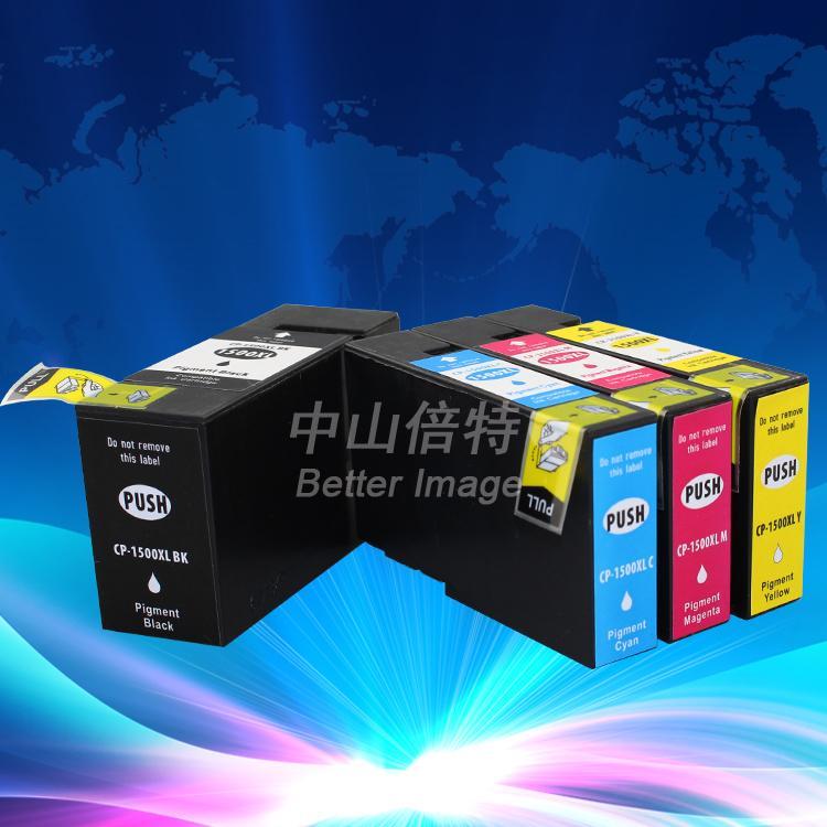 Compatible pour Canon Maxify MB 2050 Mo 2350 imprimante pgi-1500 xl noir cartouche d'encre jaune magenta cyan