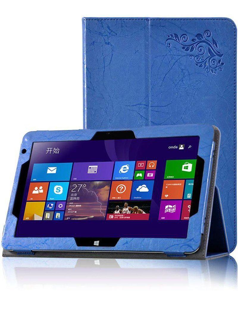 30pcs فاخر طباعة زهرة بو الجلود حالة الغطاء ل Chuwi HiBook Pro 10.1 بوصة اللوحي + قلم