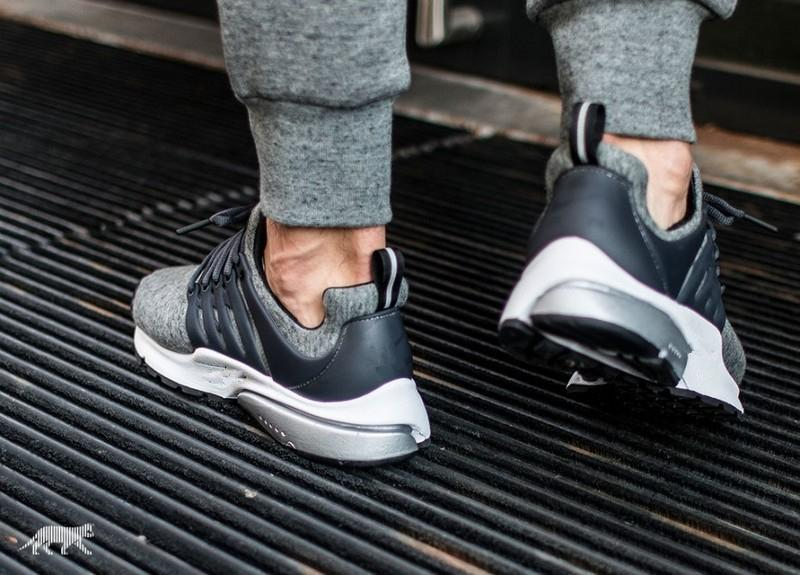 buy online 6e4e8 f48dd ... Air Presto TP Tech Fleece QS Black And Grey the shoes is not include  the original pacakge, otherwise the cusotms will ask you to ...
