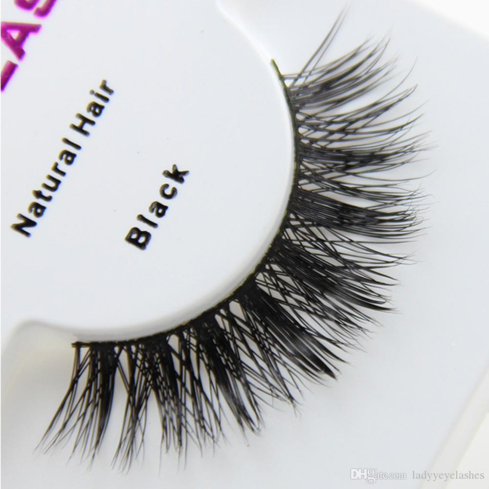 D 10 Custom Package Private Logo Long Mink Hair Eyelashes Mink ...